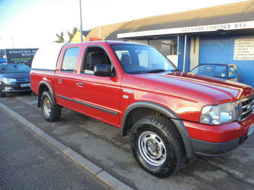2005 4 DOOR PICK UP 4X4 WITH HIGH LOW RANGE TOW BAR AIR/CON For Sale (picture 1 of 6)