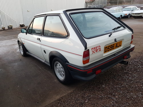 1986 Ford Fiesta XR2 - 47k For Sale (picture 4 of 6)