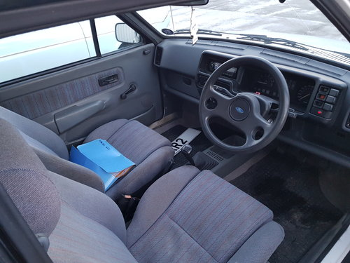 1986 Ford Fiesta XR2 - 47k For Sale (picture 5 of 6)