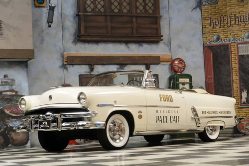 1953 Ford Sunliner Convertible Official Pace Car For Sale (picture 1 of 6)