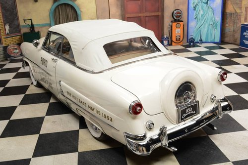 1953 Ford Sunliner Convertible Official Pace Car For Sale (picture 4 of 6)