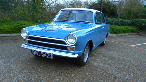 1966 FORD CORTINA MK1 1500 For Sale (picture 1 of 6)