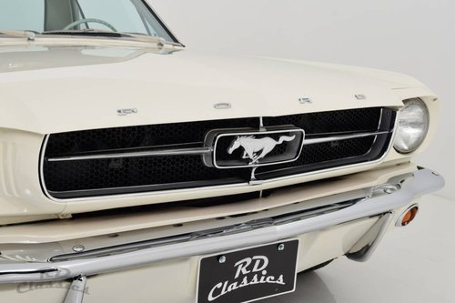 1965 Ford Mustang Coupe / Top Restauriert For Sale (picture 1 of 6)