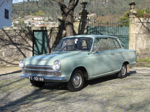 1965 Ford Cortina Mk1 - 2 doors For Sale (picture 1 of 6)