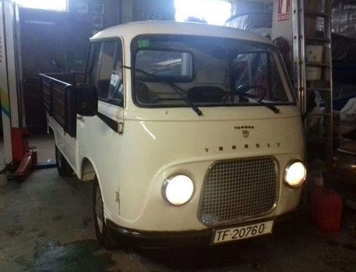 1962 FORD TAUNUS TRANSIT PICK UP LHD For Sale (picture 1 of 3)