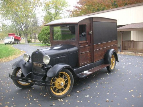 1929 Ford Model A Hearse $22500 USD For Sale (picture 1 of 6)