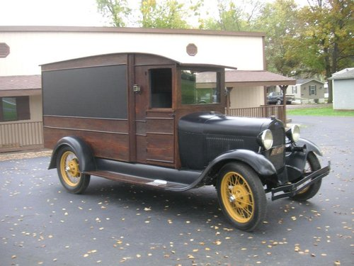 1929 Ford Model A Hearse $22500 USD For Sale (picture 3 of 6)