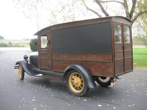 1929 Ford Model A Hearse $22500 USD For Sale (picture 5 of 6)