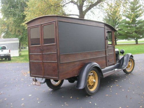 1929 Ford Model A Hearse $22500 USD For Sale (picture 6 of 6)
