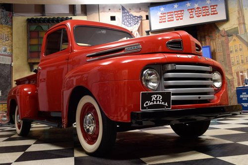 1949 Ford F1 Pickup Truck V8 Flathead For Sale (picture 1 of 6)