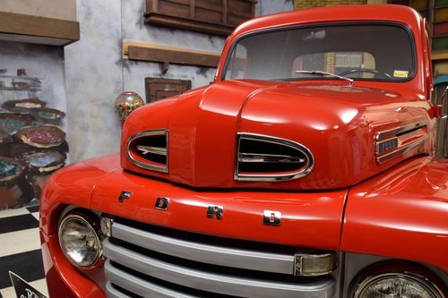 1949 Ford F1 Pickup Truck V8 Flathead For Sale (picture 3 of 6)