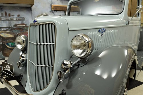 1935 Ford Model 48 Pickup Truck Top Zustand For Sale (picture 3 of 6)