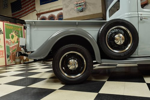 1935 Ford Model 48 Pickup Truck Top Zustand For Sale (picture 4 of 6)