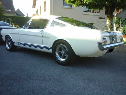 Mustang fastback shelby gt 350 r 1965 tribute For Sale (picture 2 of 4)