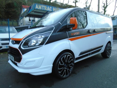 2015 FORD TRANSIT CUSTOM 2.2TDCI 100 SWB M SPORT STYLING For Sale (picture 1 of 6)