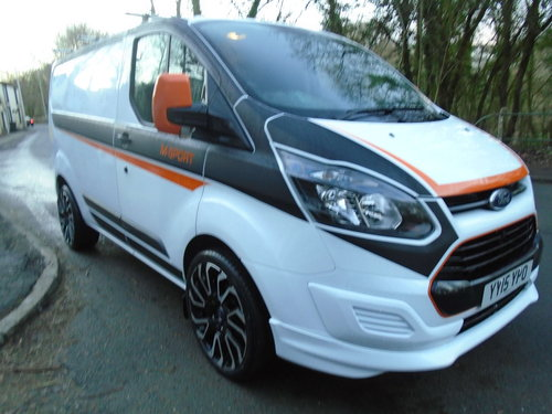 2015 FORD TRANSIT CUSTOM 2.2TDCI 100 SWB M SPORT STYLING For Sale (picture 2 of 6)