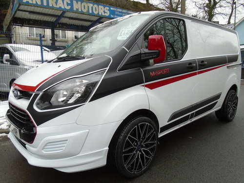 2016 TRANSIT CUSTOM 2.2 TDCI 100 SWB M SPORT STYLING For Sale (picture 1 of 6)