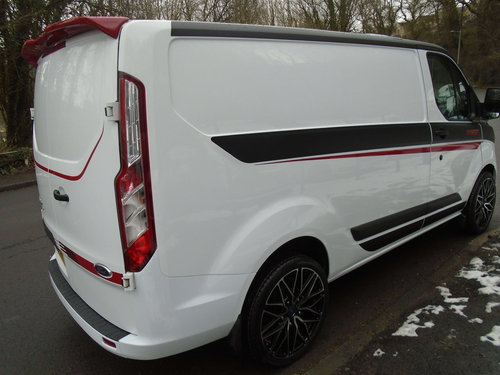 2016 TRANSIT CUSTOM 2.2 TDCI 100 SWB M SPORT STYLING For Sale (picture 3 of 6)