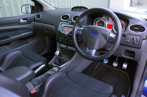 2009 Ford Focus RS, 35k, Blue, 1 former owner, FSH, Un-Modified. SOLD (picture 4 of 6)