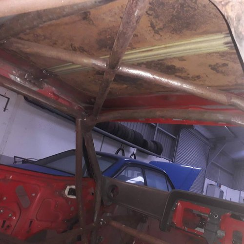 1987 rally / race  fabricated capri shell For Sale (picture 5 of 6)