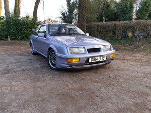 1986 Ford Sierra rs cosworth LHD moonstone blue For Sale