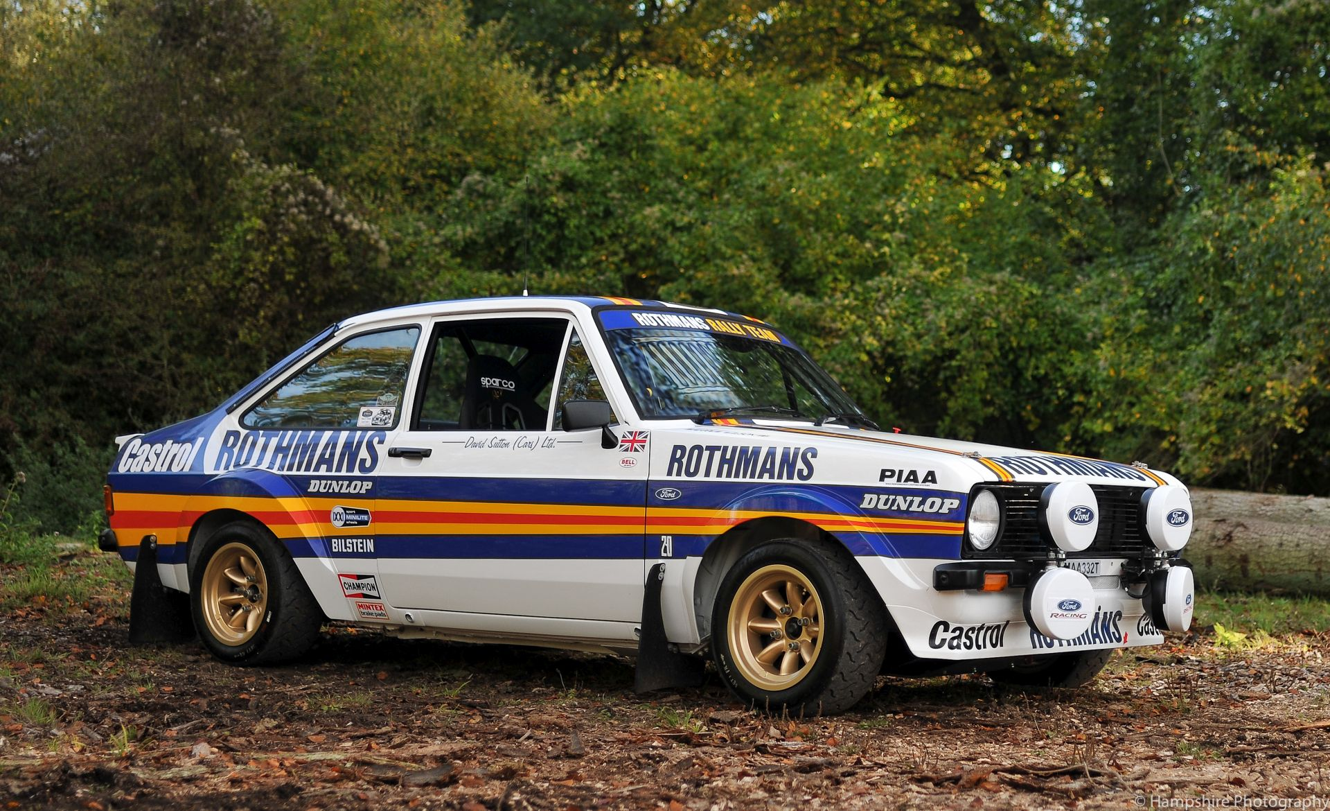 1978 Ford Escort Mexico Mk II Group 4 Rally Car Evocation For Sale (picture 3 of 6)