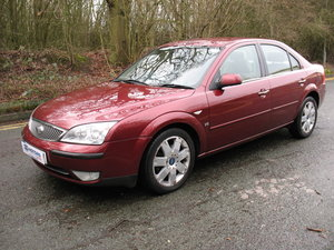 Ford Mondeo 2.5 V6 Ghia X 2004 '54' Registration, 4dr Saloon For Sale