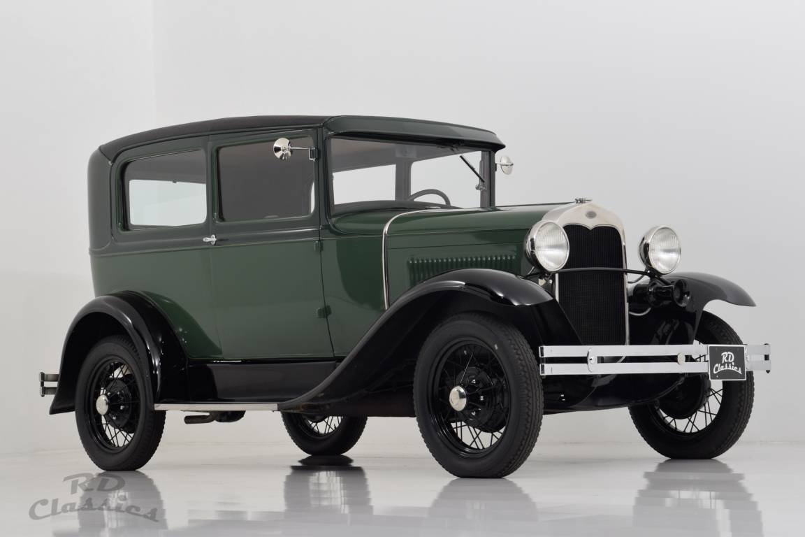 1930 Ford Model A Tudor For Sale (picture 1 of 6)