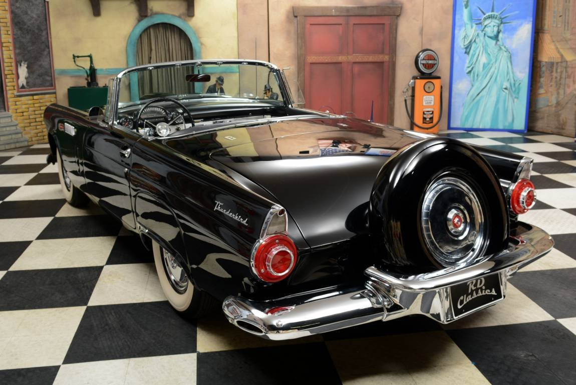 1956 Ford Thunderbird Convertible - Soft & Hardtop! For Sale (picture 2 of 6)