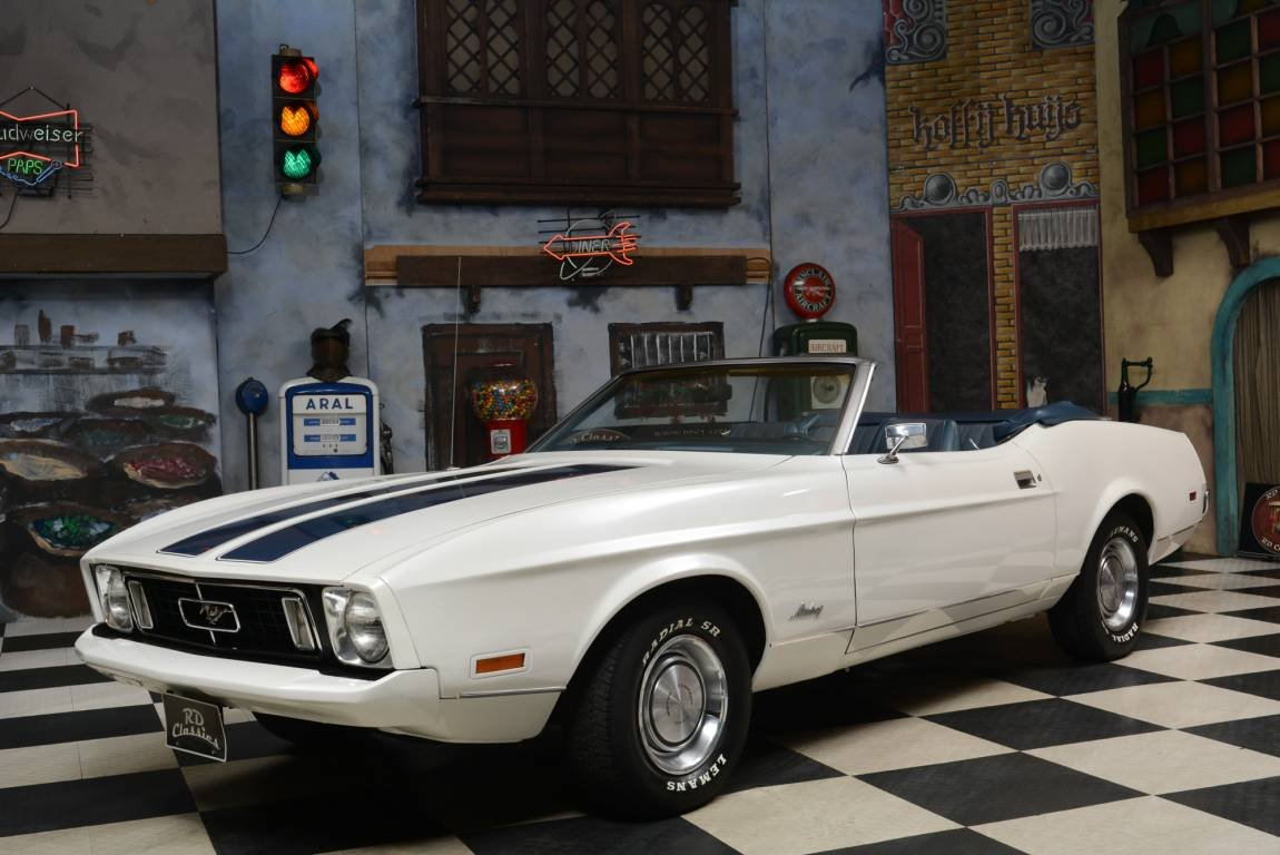 1973 Ford Mustang Convertible / Belgische Papieren For Sale (picture 1 of 6)