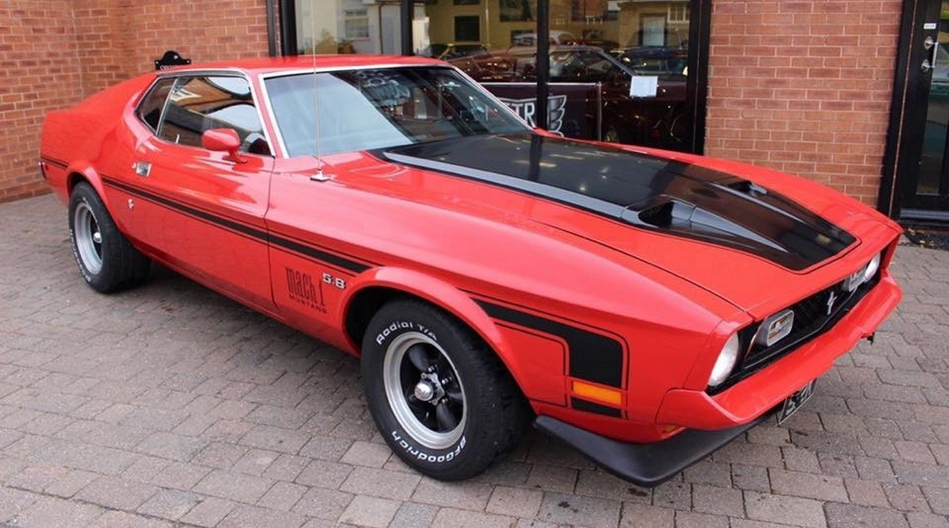 1972 mustang mach 1 351 cobra jet fastback for sale picture 1 of 6