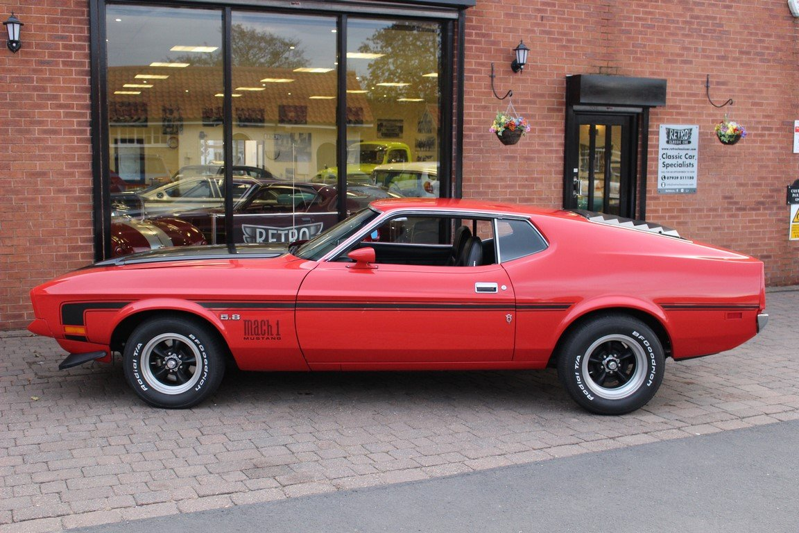 1972 mustang mach 1 351 cobra jet fastback for sale picture 3 of 6