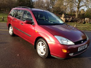 2001 FORD FOCUS MK1 ESTATE 1.6 ZETEC 47000 FULL FORD HISTORY SOLD