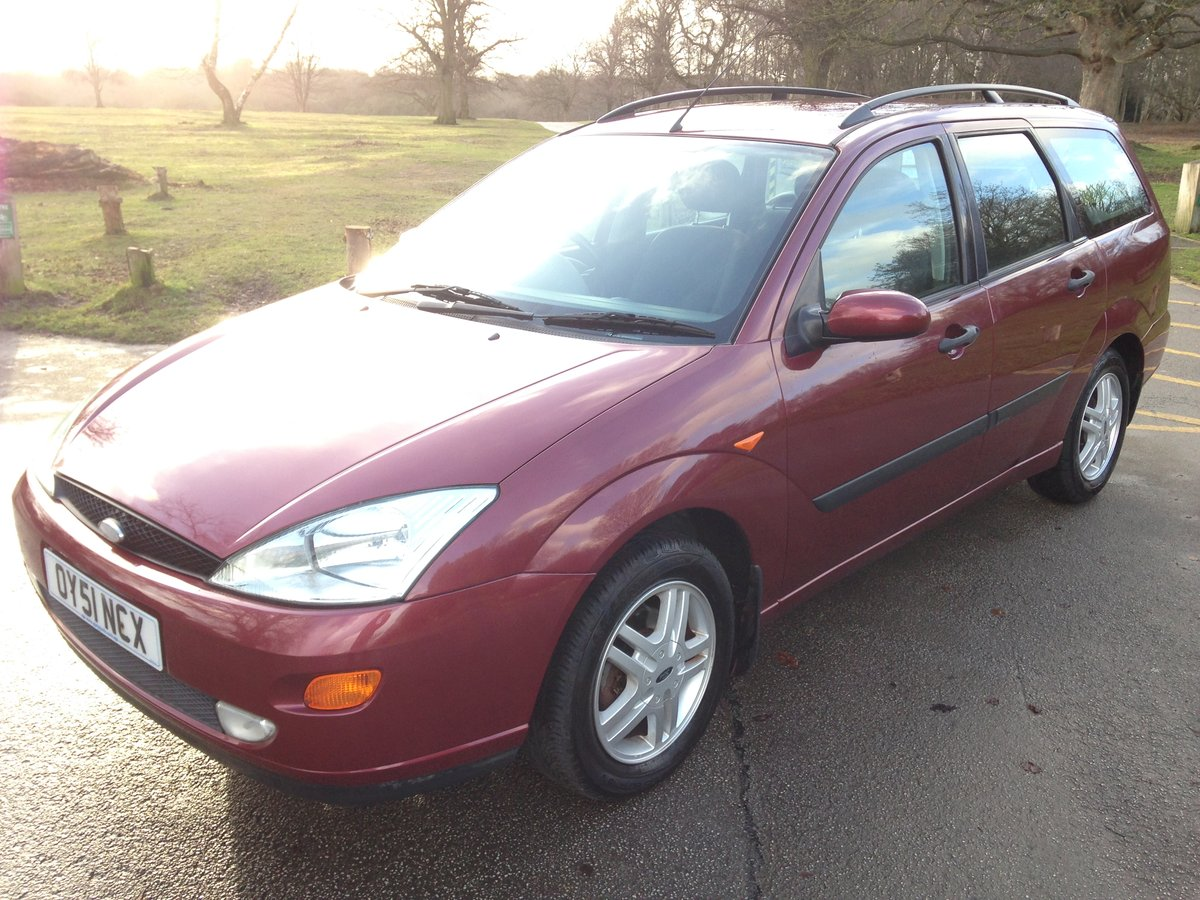 2001 FORD FOCUS MK1 ESTATE 1.6 ZETEC 47000 FULL FORD HISTORY SOLD (picture 2 of 6)