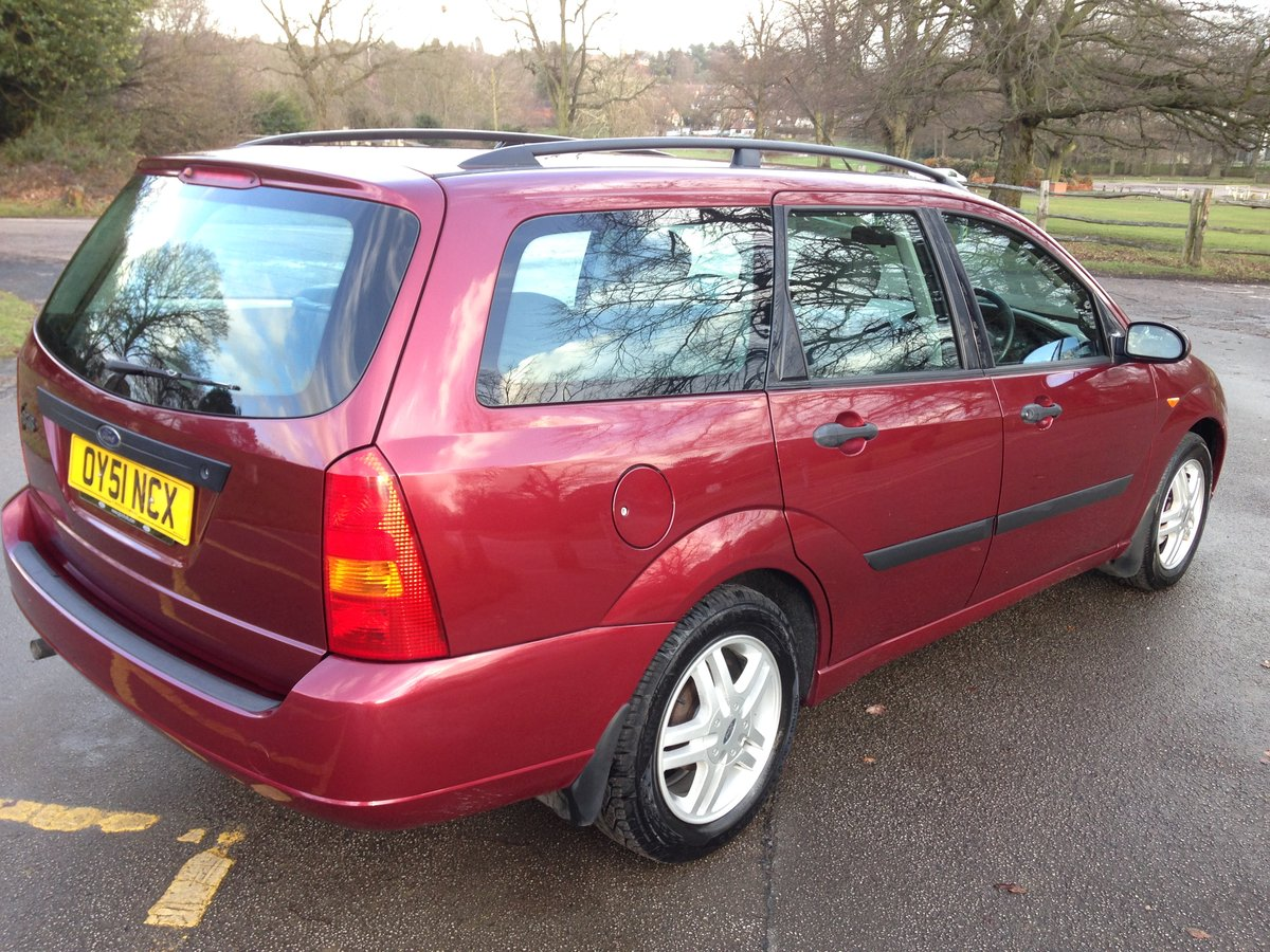 2001 FORD FOCUS MK1 ESTATE 1.6 ZETEC 47000 FULL FORD HISTORY SOLD (picture 3 of 6)