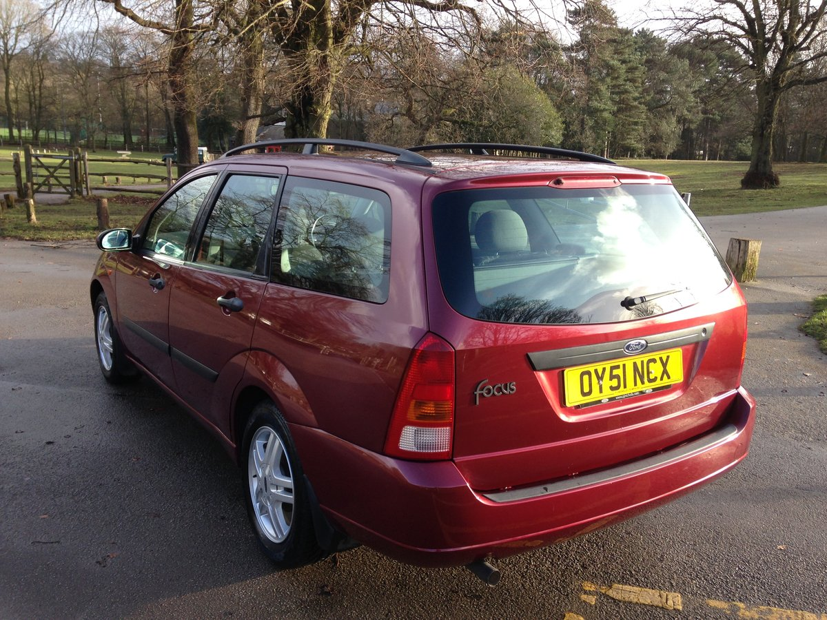 2001 FORD FOCUS MK1 ESTATE 1.6 ZETEC 47000 FULL FORD HISTORY SOLD (picture 4 of 6)