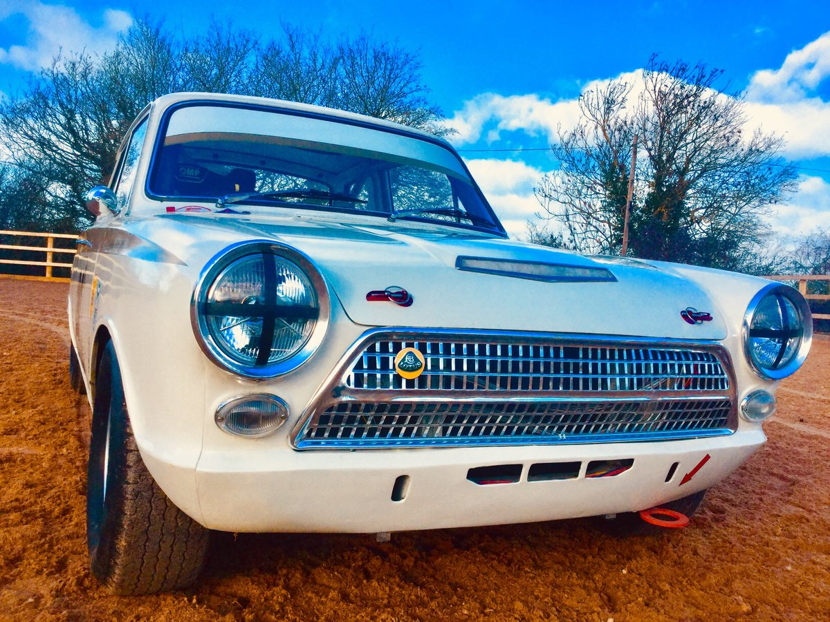 1963 Ford Lotus Cortina FiA race car SOLD (picture 1 of 6)