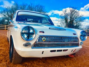 Ford Lotus Cortina FiA race car
