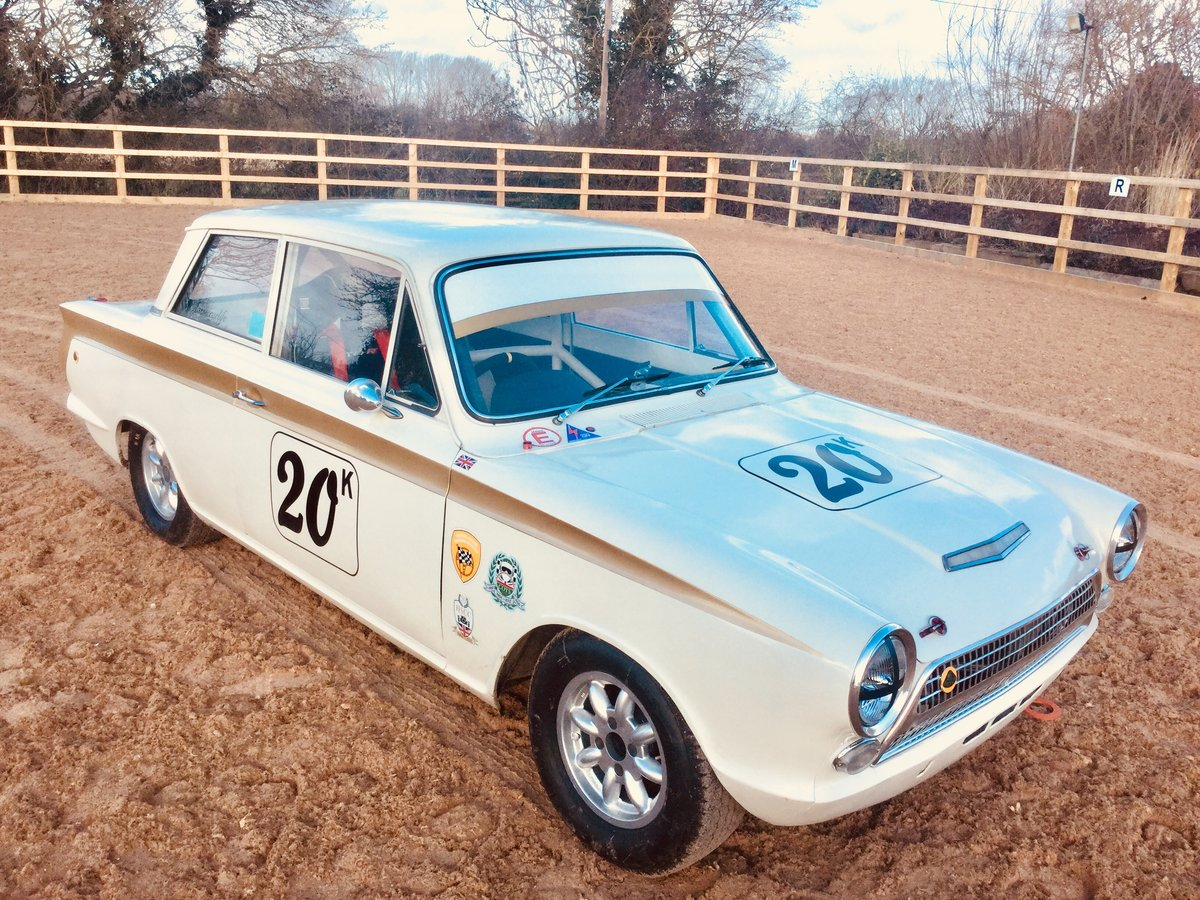 1963 Ford Lotus Cortina FiA race car SOLD (picture 2 of 6)