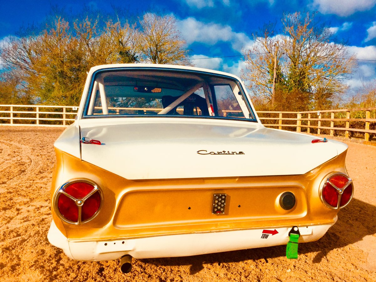 1963 Ford Lotus Cortina FiA race car SOLD (picture 3 of 6)