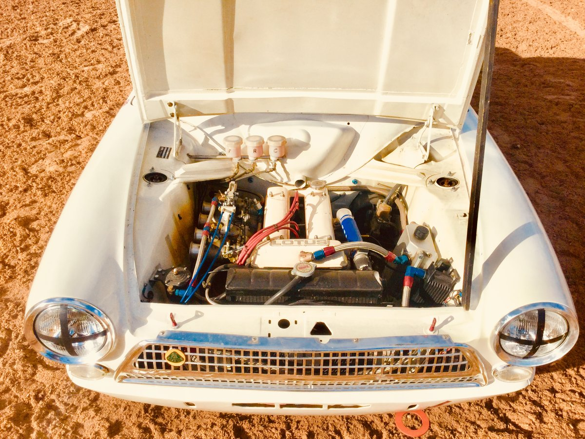 1963 Ford Lotus Cortina FiA race car SOLD (picture 5 of 6)