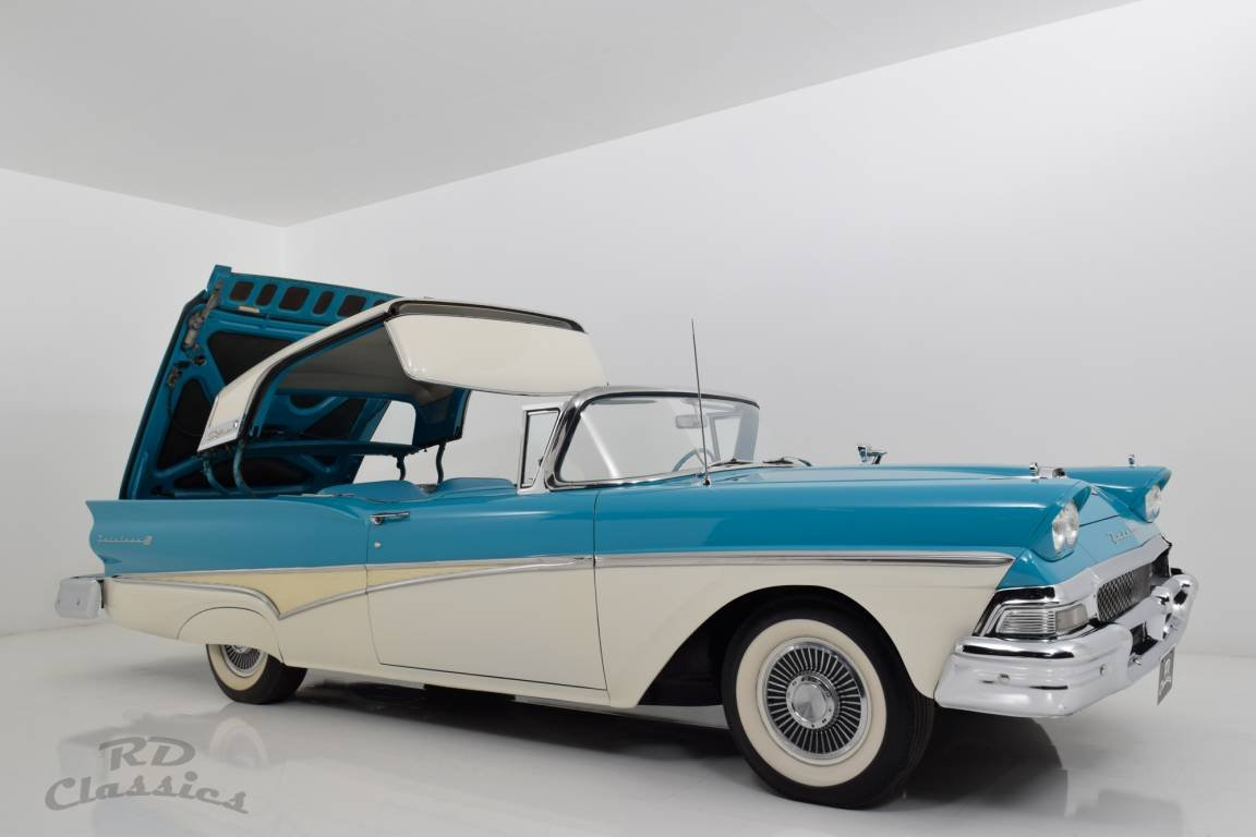 1958 Ford Fairlane Skyliner Retractable Hardtop For Sale (picture 1 of 6)