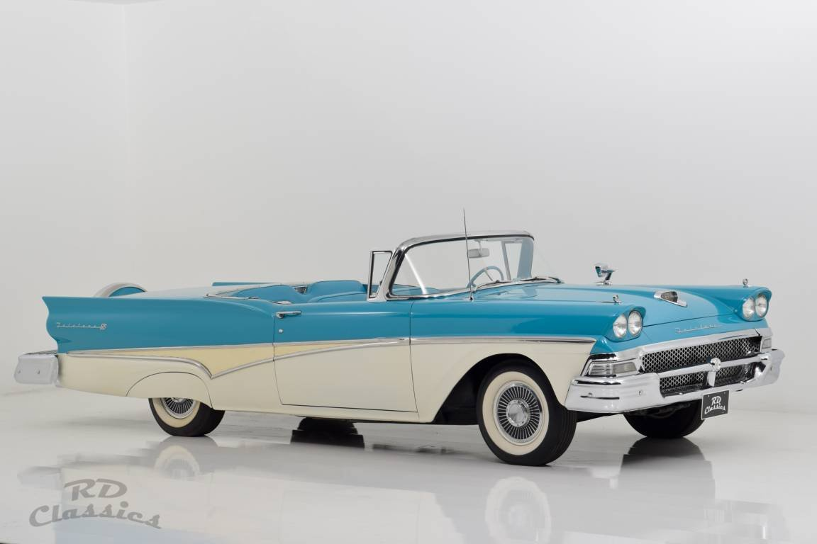 1958 Ford Fairlane Skyliner Retractable Hardtop For Sale (picture 2 of 6)