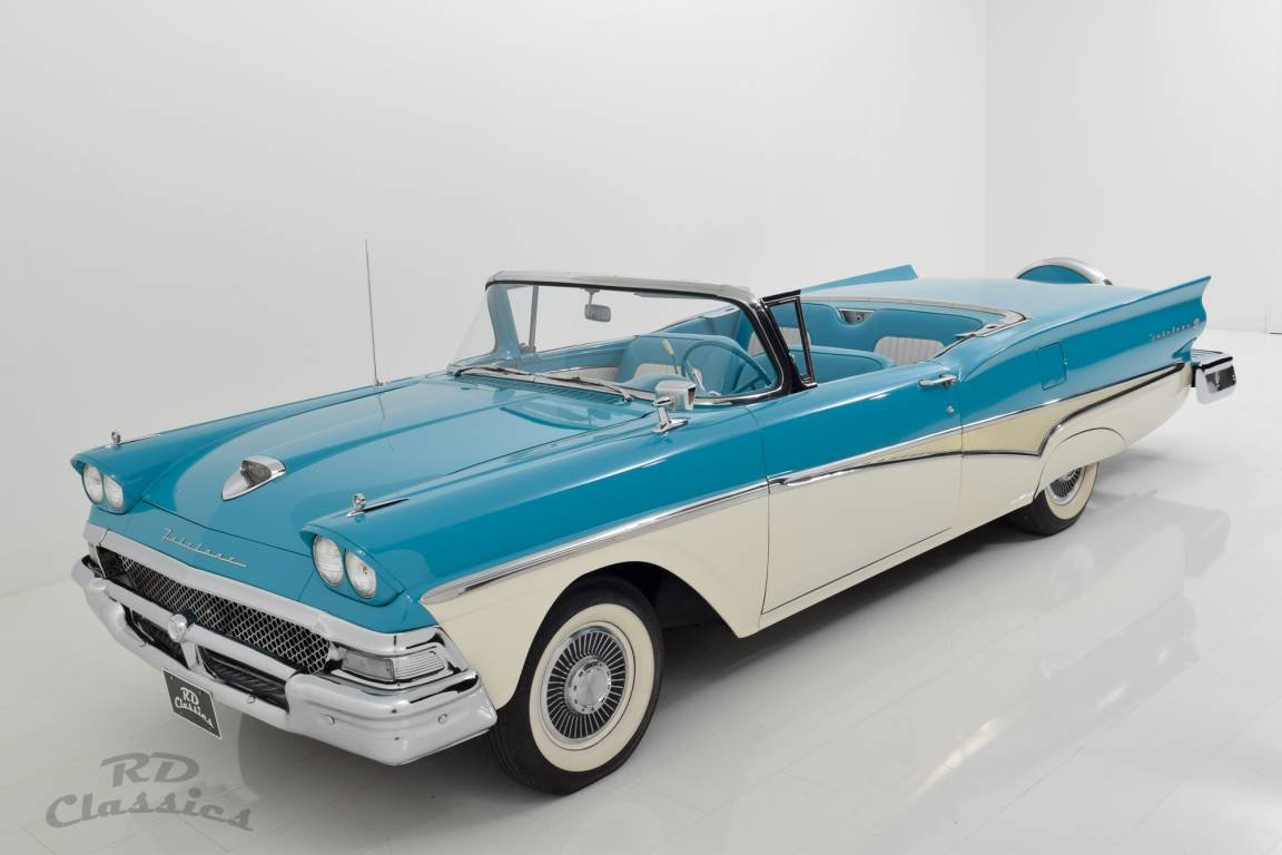 1958 Ford Fairlane Skyliner Retractable Hardtop For Sale (picture 3 of 6)