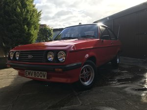 1979 FORD ESCORT RS 2000 MK2, IMMACULATE For Sale