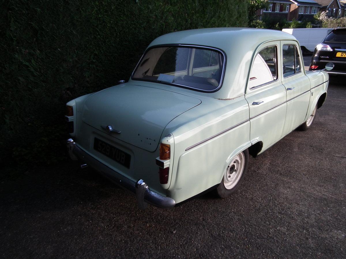 1961 Ford Prefect 107e SOLD (picture 6 of 6)