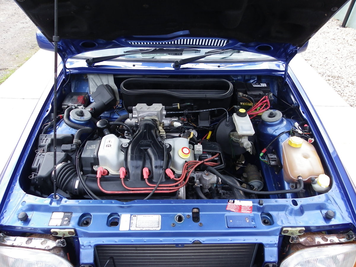 1990 Ford Escort XR3i Convertible, Beautiful unmolested car SOLD (picture 6 of 6)