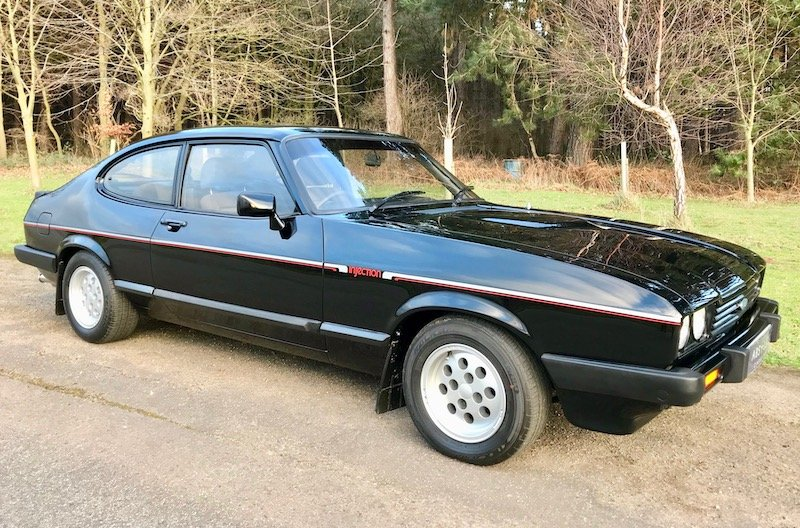 1983 Ford Capri 2.8 injection Early 5 speed Concours Restoration  SOLD (picture 1 of 6)