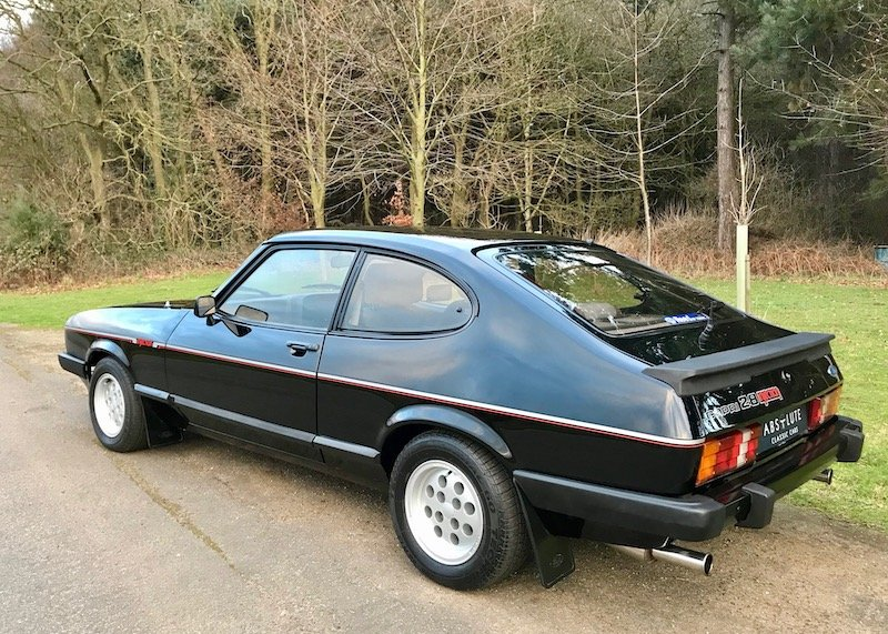 1983 Ford Capri 2.8 injection Early 5 speed Concours Restoration  SOLD (picture 2 of 6)