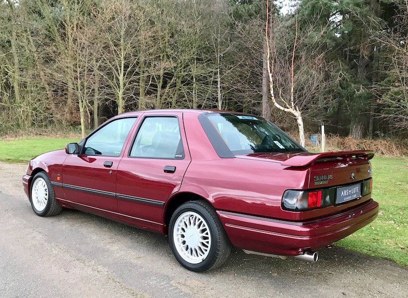 1992 Ford Sierra Sapphire RS Cosworth 4x4 - 28k miles a stunner! SOLD (picture 2 of 6)